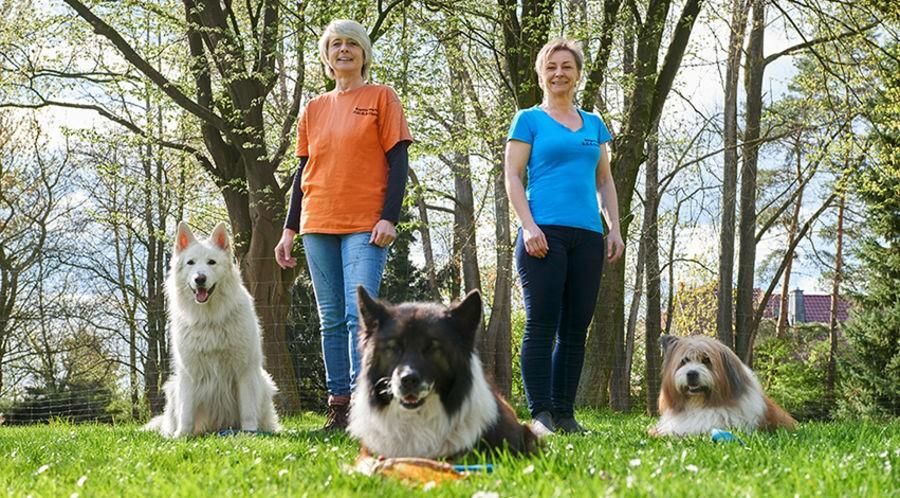 Helge Mättig und Angela Merten - Natürlich Hund - Hundeschule in Rinteln und Neustadt